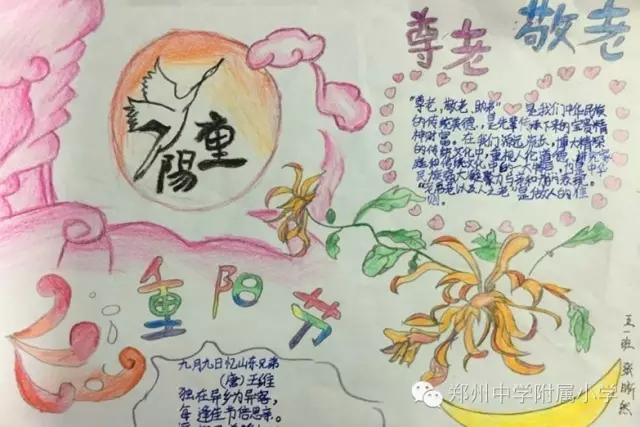 详细了解重阳节的由来,学习有关重阳节的诗句和尊老敬老的故事,搜集不图片